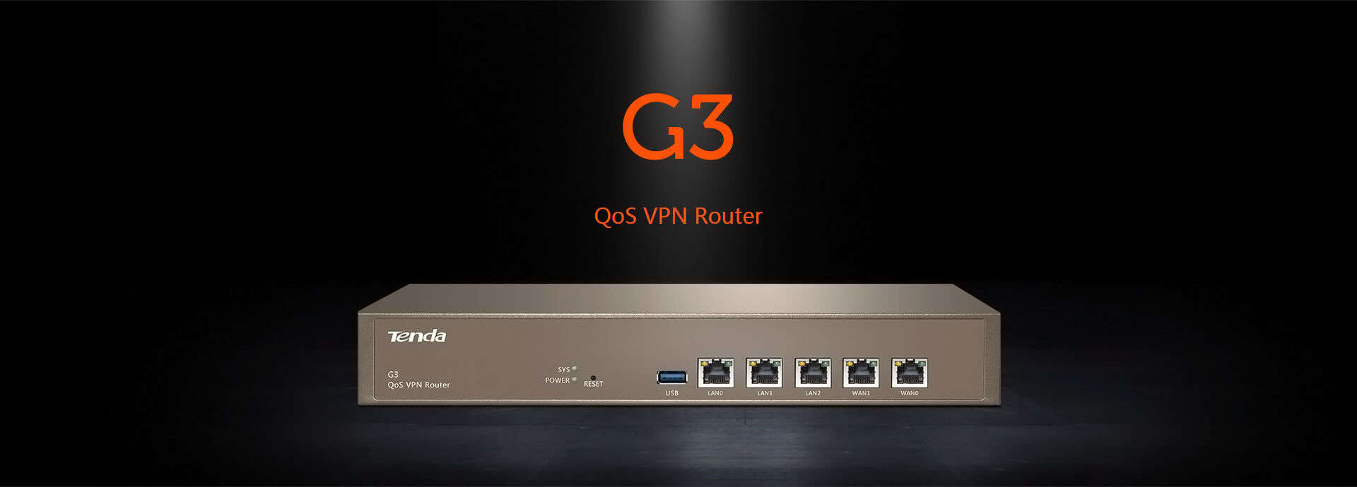 Tenda QOS VPN Router (Gateway) G3