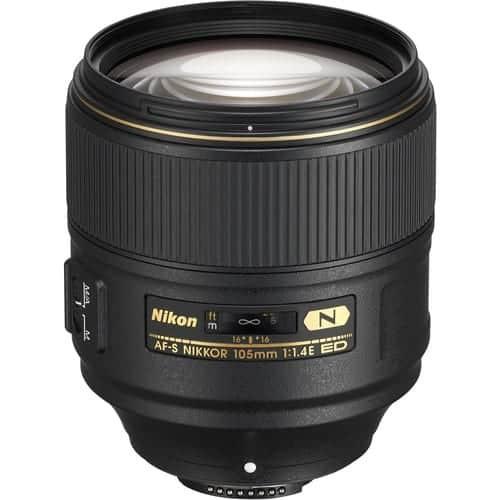 Nikon Lens AF-S NIKKOR 105MM F/1.4E ED