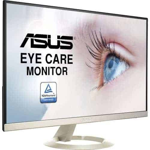ASUS VZ27AQ Eye Care Monitor - 27 inch WQHD, IPS, Ultra-slim, Frameless