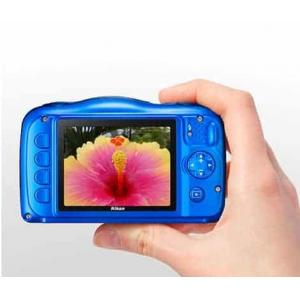 Nikon Coolpix W100 13.2 MP Point and Shoot Digital Camera with 3x Optical Zoom
