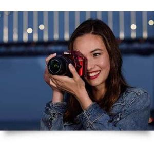 Nikon D3400 DSLR Camera (Body with D-ZOOM KIT: AF-P DX NIKKOR 18-55mm f/3.5-5.6G VR + AF-P DX NIKKOR 70-300mm f/4.5-6.3G ED VR)