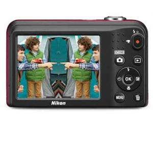 Nikon Coolpix A10 Point and Shoot Digital Camera with 8GB Memory Card and Camera Case