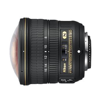 Nikon Lens (8-15MM) AF-S FISHEYE NIKKOR F/3.5-4.5E ED