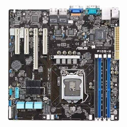 Asus P10S-M Compact Size with Expandable I/O Support