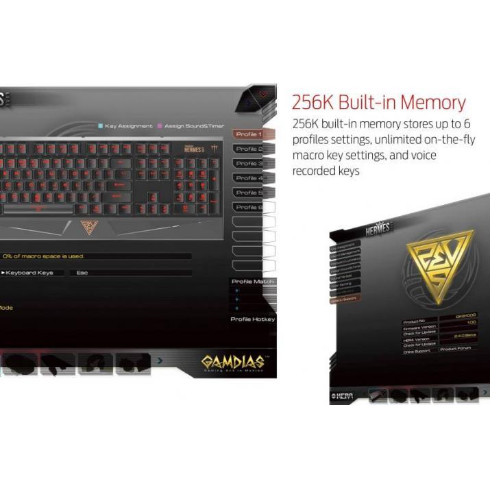 Gamdias Hermes Lite Mechanical Keyboard (GKB 1000)