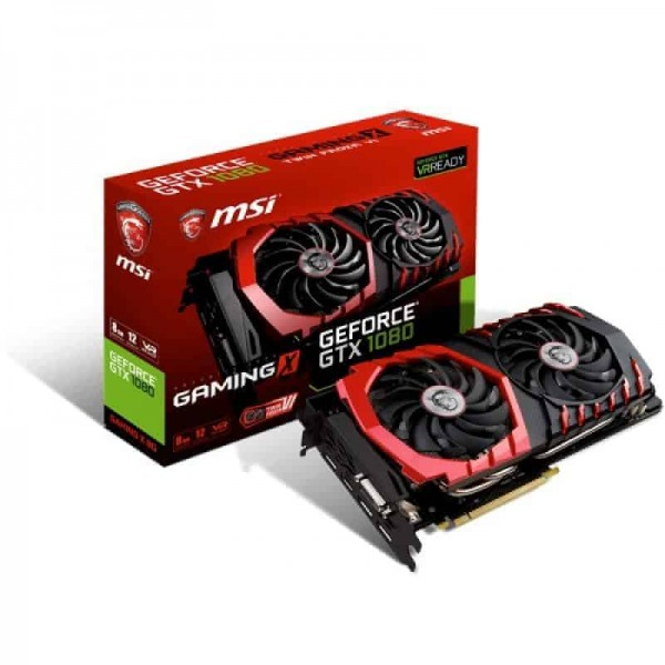 MSI GEFORCE® GTX 1080 GAMING X 8G DDR5X Gaming Graphics Card