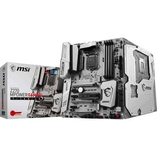 MSI Z270 Mpower Gaming Titanium LGA1151 ATX Motherboard