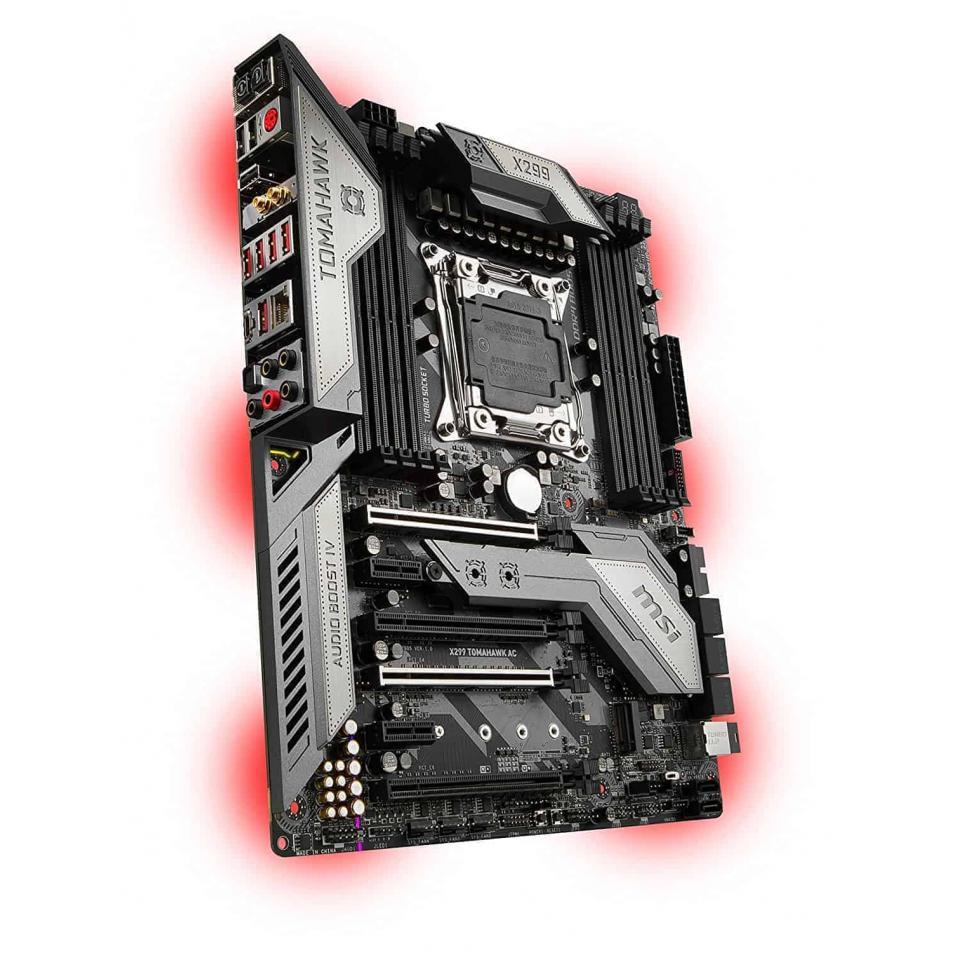 MSI X299 TOMAHAWK AC Arsenal Gaming Intel X299 LGA 2066 DDR4 USB 3.1 SLI ATX Motherboard
