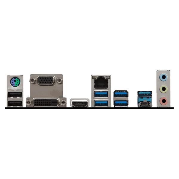 MSI Intel Z270 PC MATE 7th/6th Gen USB2 Motherboard - Black