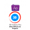 3D Galaxy Pro (After Effects CC) Projects