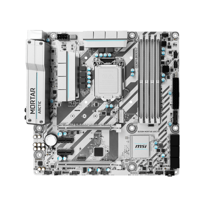 MSI B250M MORTAR ARCTIC Gaming Motherboard