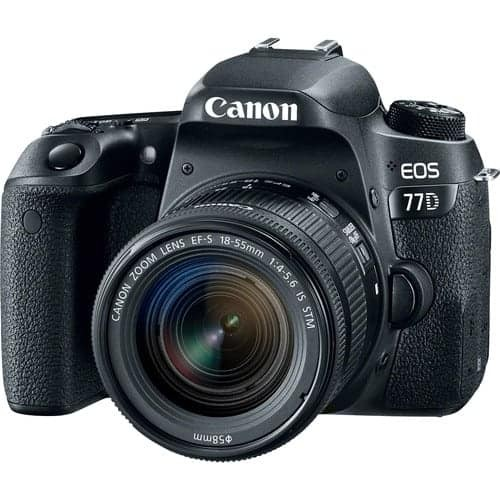 Canon EOS 77D DSLR Camera With (18-55mm) or (18-135mm) Lens