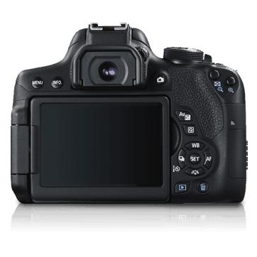 Canon EOS 750D 24.2MP Digital SLR Camera Body & Lens 18-55mm