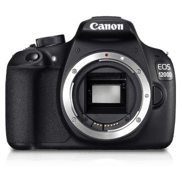 Canon EOS 1200D 18MP Digital SLR Camera (Body) & Lenses (18-55mm) (55-250mm) (50mm)