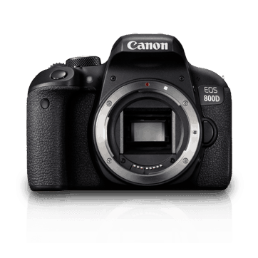 Canon EOS 800D 24.2MP Digital SLR Camera Body & 18-55 Lens