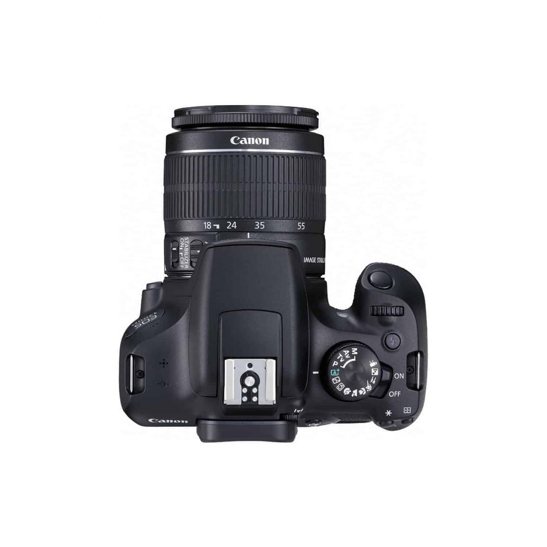 Canon EOS 1300D 18MP Digital SLR Camera Double Zoom (EF S18-55 IS II & EF S55-250 IS II) & (EF S18-55 IS II)