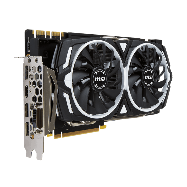 MSI GTX 1070 ARMOR 8G OC 8GB Gaming Graphics Card