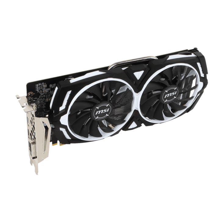 MSI GAMING GeForce GTX 1060 6GB GDDR5 DirectX 12 VR Ready (GeForce GTX 1060 ARMOR 6G OC) by MSI