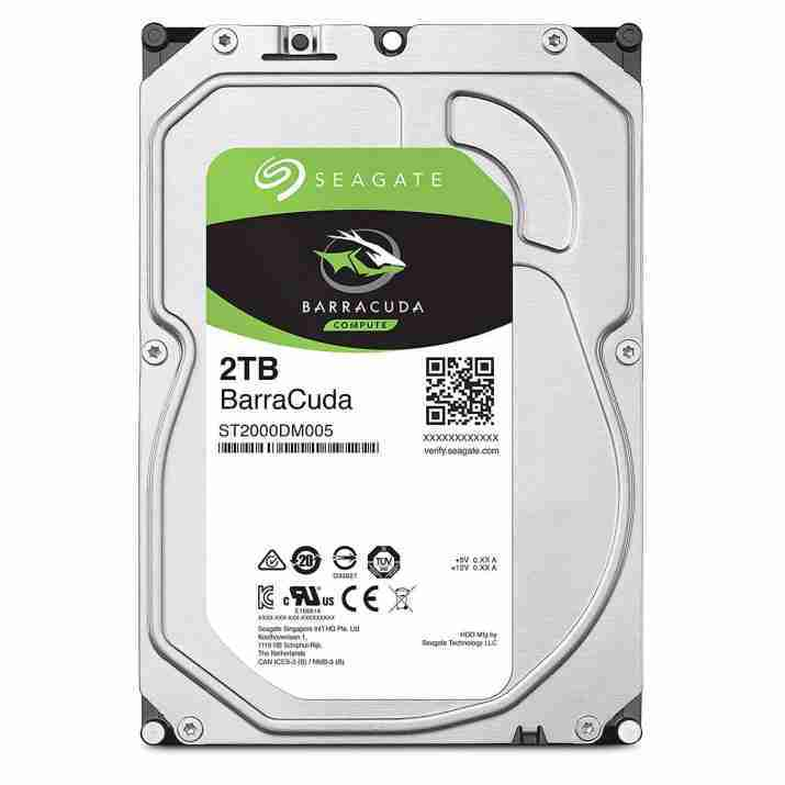 Seagate Barracuda 2TB Internal Hard Disk With 2 Year Warranty