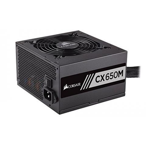 CORSAIR CXM series CX650M 650W 80 PLUS BRONZE Haswell Ready ATX12V & EPS12V Modular Power Supply
