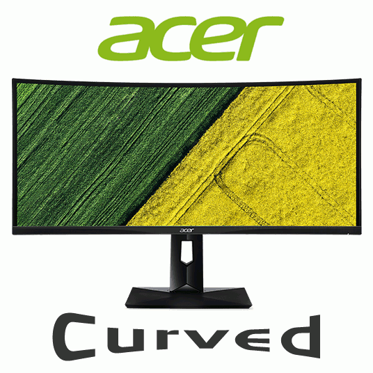 """Acer CZ340CK 34"""" Curved UltraWide QHD IPS LED Display Monitor"""