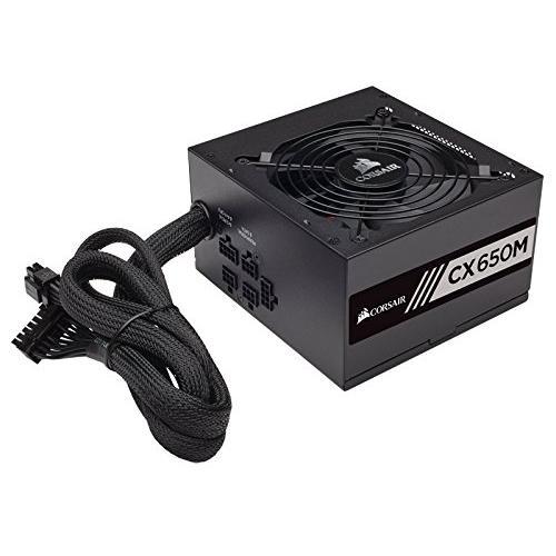 CORSAIR CX650M 650W 80 PLUS BRONZE Haswell Ready ATX12V & EPS12V Modular Power Supply