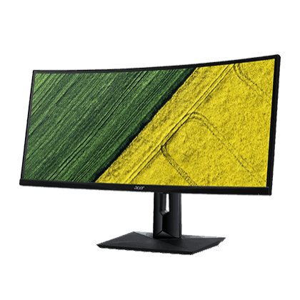 """Acer CZ340CK 34"""" Curved UltraWide QHD IPS LED Display Monitor, Full HD"""