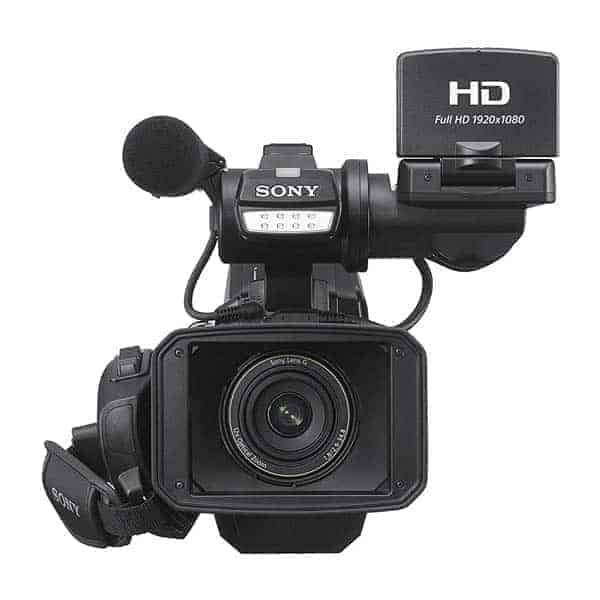 Sony HXR-MC2500 Shoulder Mount AVCHD Camcorder, The HXR-MC2500 provides a professional look and shooting style which is ideal for weddings, corporate communications or education facilities. While light and easily portable, its full Shoulder Mount design means your clients immediately know you mean business. Workflow flexibility is enhanced by the ability to record,