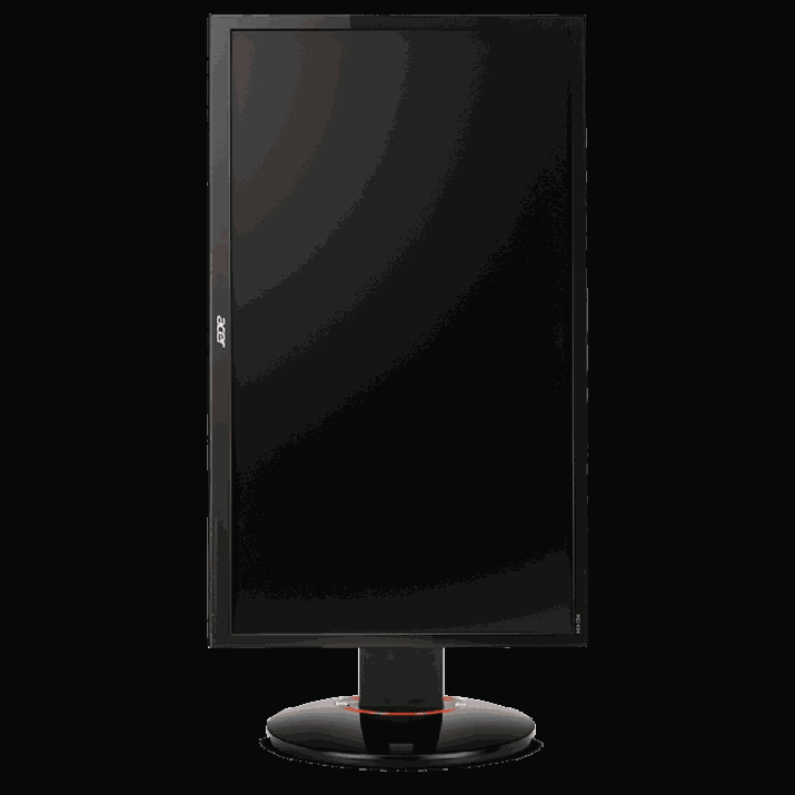 Acer XB240H 24-inch LED Gaming Monitor (Black) The 24 inches full HD display featured 144Hz refresh rate and 1ms response time for the smoothest gaming experience like never experienced before Adjust your screen's dim in dark environment through Low dimming technology, Extensive Connectivity: DisplayPort, VGA, DVI (Dual Link) and MHL The ergo stand design came with adjustable tilt, swivel, pivot and height Image Brightness: 350 cd/m2