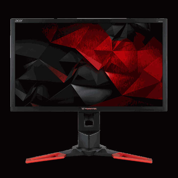 Acer Predator XB241H bmipr 24-inch Full HD 1920x1080 NVIDIA G-Sync Display, 144Hz, 2 x 2w speakers, HDMI & DP, 24-Inch Full HD Widescreen with 1920 x 1080 resolution Panel Technology: Twisted Nematic Film (TN) Technology Response Time: 1ms, Pixel Pitch: 0.276mm Signal Inputs: 1 x HDMI & 1 x Display Port (v1.2) 144Hz Refresh Rate (overclocking to 180Hz)Pixel Power Monitors used to sacrifice color for speed, but now you can warp to a new level of gaming on a stunning IPS 1 display. Gaming, 24 inch