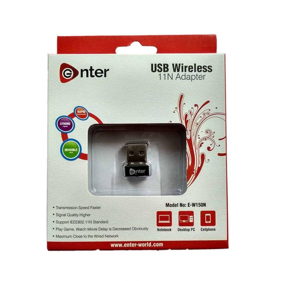 Enter USB WIRELSS LAN ADAPTER 150 MBPS E-W150N