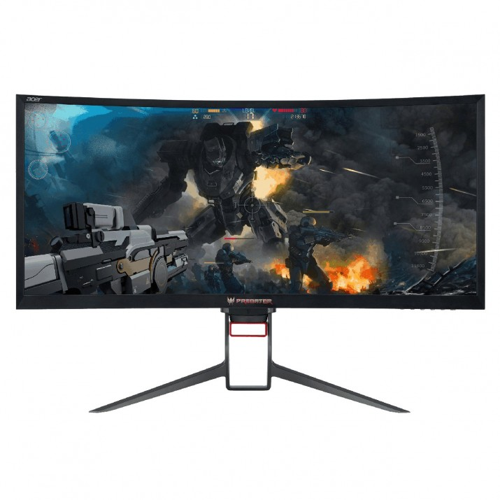 Predator Z35P, Nvidia G-Sync, 21:9, WQHD, 120Hz, Curved 1800R, 100% sRGB, Blue light filter, Flicker-less, USB3.0 HUB With NVIDIA® G-SYNC™, you've entered a world where frames are seamless and perfect. Pixel Power-WQHD resolution makes textures crisp and clear. Sharply curved screens wrap your games around you to provide a more enveloping viewing experience. The cinematic 21:9 aspect ratio Enhanced Color Accuracy-100% sRGB *All images used are for illustration purposes only. Actual product may differ from images shown.