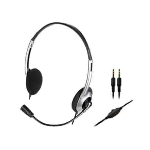 Creative Hs-320 On-Ear Headphone with Mic, Kartmy