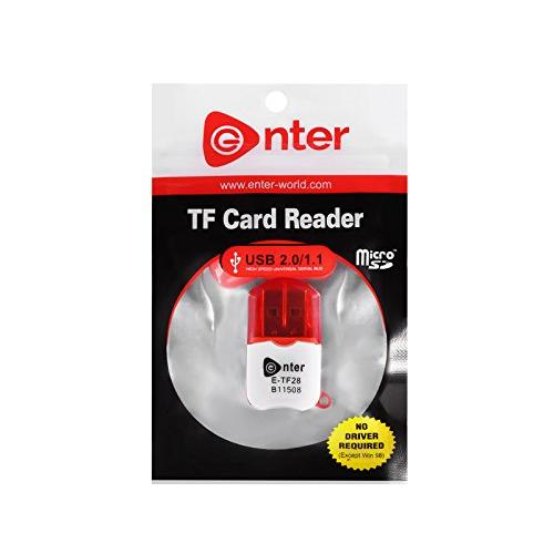 TF Card Reader E-TF28 , Buy Enter (Pack Of 5) E-TF28 High Speed Mini Usb 2.0 Micro SD TF Memory Card Reader Adapter online at low price in India on Amazon.in. Check out Enter (Pack Of 5) E-TF28 High Speed Mini Usb 2.0 Micro SD TF Memory Card Reader Adapter reviews, ratings, features, specifications and browse more Enter products, Buy Enter E-TF23 TF Card Reader - White online at best price in India. Shop online for Enter E-TF23 TF Card Reader - White only on Snapdeal. Get Free Shipping & CoD options across India.,