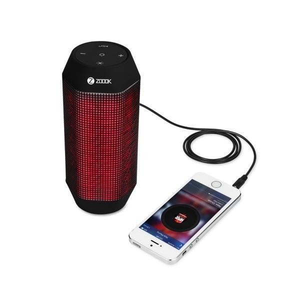 Zoook BLUETOOTH SPEAKER WITH DYNAMIC LED LIGHTS AND HD SOUND ZB-ROCKER-2, Kartmy