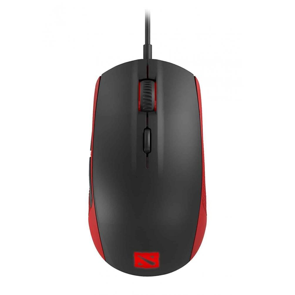 SteelSeries DOTA 2 Special Edition Rival 100 Optical Gaming Mouse, Kartmy