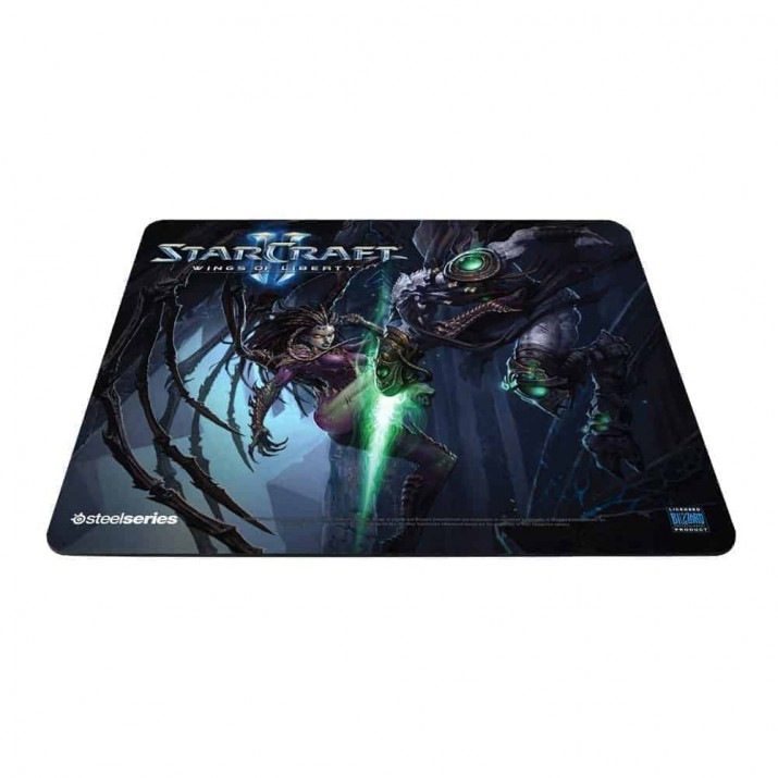 SteelSeries QcK Limited Edition Mouse Pad (StarCraft II Kerrigan vs. Zeratul), Kartmy