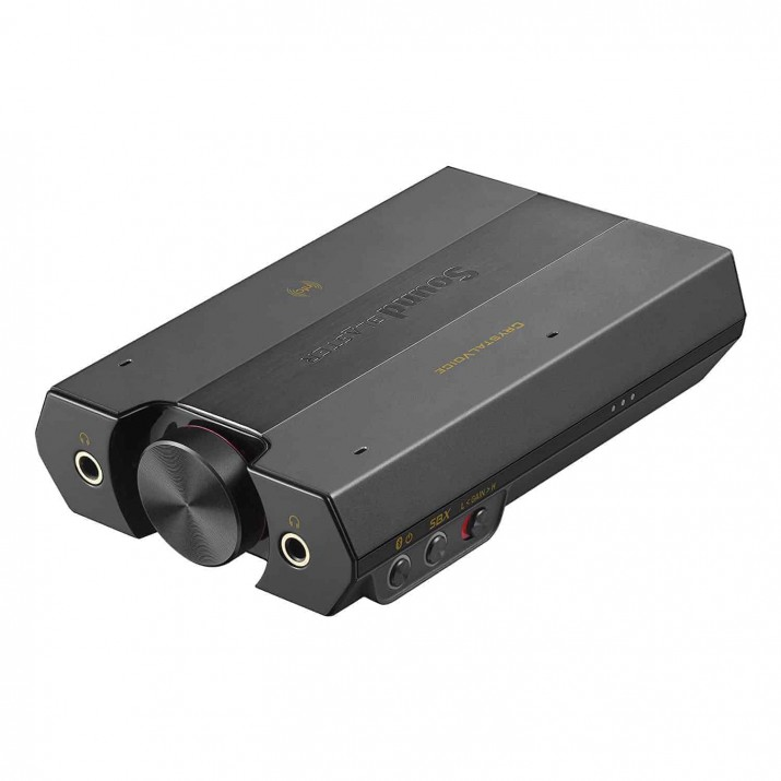 Creative Sound Blaster E5 High-Resolution USB DAC 600, Kartmy
