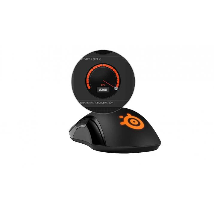 SteelSeries 62250 SENSEI Wireless Professional Laser Gaming Mouse, Kartmy