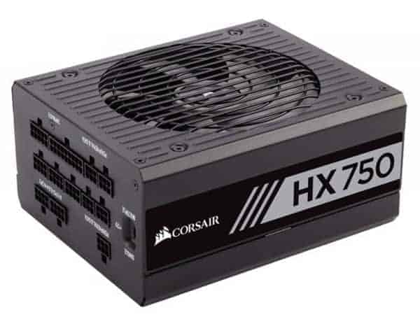 Corsair Professional Series HX 750 Watt ATX EPS Modular 80 PLUS Gold HX750 750-Watts