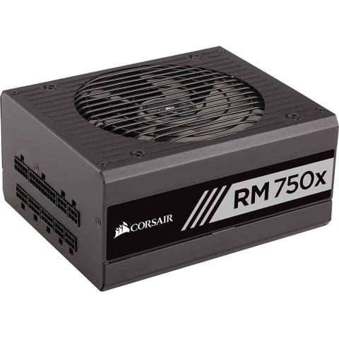 Corsair RMx Series RM750X - 750 Watt - ATX12V / EPS12V 80 PLUS GOLD Certified Full Modular Power