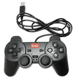 Enter USB GAME PAD SINGLE PLAYER MODEL NO. E-GPV10
