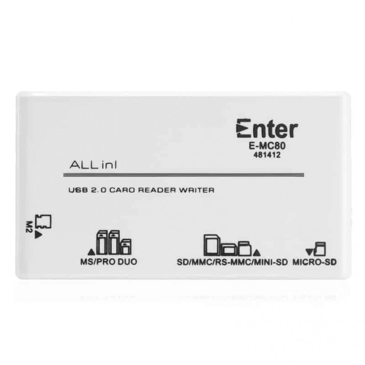 USB Card Reader All in1 Ext Enter E-MC 80, TF Card Reader E-TF29 , Buy Enter (Pack Of 5) E-TF28 High Speed Mini Usb 2.0 Micro SD TF Memory Card Reader Adapter online at low price in India on Amazon.in. Check out Enter (Pack Of 5) E-TF28 High Speed Mini Usb 2.0 Micro SD TF Memory Card Reader Adapter reviews, ratings, features, specifications and browse more Enter products, Buy Enter E-TF23 TF Card Reader - White online at best price in India. Shop online for Enter E-TF23 TF Card Reader - White only on Snapdeal. Get Free Shipping & CoD options across India., satyamfilm.com kartmy.com, TF Card Reader E-TF29 , Buy Enter (Pack Of 5) E-TF28 High Speed Mini Usb 2.0 Micro SD TF Memory Card Reader Adapter online at low price in India on Amazon.in. Check out Enter (Pack Of 5) E-TF28 High Speed Mini Usb 2.0 Micro SD TF Memory Card Reader Adapter reviews, ratings, features, specifications and browse more Enter products, Buy Enter E-TF23 TF Card Reader - White online at best price in India. Shop online for Enter E-TF23 TF Card Reader - White only on Snapdeal. Get Free Shipping & CoD options across India., satyamfilm.com kartmy.com