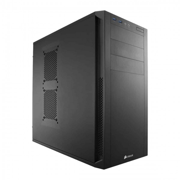 Carbide Series 200R ATX Case is compact, but it's designed to let you build high-performance systems with massive storage, extra graphics performance and superior cooling and ventilation. You get seven PCI-E slots and you can install up to four hard drives and four SSDs at once. Eight fan mounting points let you expand your cooling system to match your high-performance components. Build with the Carbide Series 200R and the only time you will need to pick up a screwdriver is to install the motherboard. The side panels and expansion slots use thumbscrews and SSD, hard drive and optical drive installation are all tool-free. Cutouts for cable routing and CPU cooling make builds and upgrades neat and simple.The mid-tower form factor combines room for expandability and out-of-the-way exterior dimensions. The USB 3.0, headphone and microphone ports are right up front and the front intake dust filter helps keep the interior clean.Other features are side panel thumbscrews, PCI-E expansion card thumbscrew mounts, tool-free SSD, hard drive and optical drive installation, cutouts for cable routing and CPU cooling, Seven PCI-E slots with thumbscrews and room for cards up to 430 mm long, CPU coolers up to 160 mm in height, install up to 4 hard drives and four SSDs at once, up to 8 fan mounts (depending on hard drive configuration), dust filters behind the front intake fan help keep the interior clean., Designed for Easy BuildsLess work. More play. Build with the Carbide Series™ 200R and the only time you'll need to pick up a screwdriver is to install the ..., Buy Corsair Carbide Series 200R Windowed Compact ATX Case ... Corsair Carbide Series 100R CC-9011075-WW Black Steel ATX Mid Tower .... This cabinet is so fancy it can almost handle anything to want to install in it.