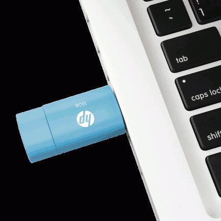 HP v152w 16GB Pendrive, Kartmy