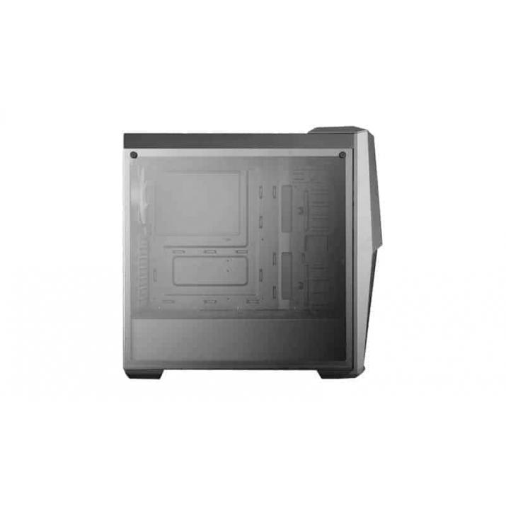 Cooler Master MasterBox MB500 Computer Case 'High Air Flow, RGB LED Fans, Tempered Glass Side Panel' MCB-B500D-KGNN-S00, Buy MasterBox 5 Black & White Mid-Tower with Internal Configuration, E-ATX Support, and Nine SSD Mount Positions online at low price in India, The front supports up to three 120mm- or two 140mm fans and up to a 360mm radiator, with a maximum thickness of 50mm without fans. The Rear supports a, COOLER MASTER MASTERBOX MB500 (ATX) Mid Tower Cabinet - With Tempered Glass Side Panel And RGB Fan Controller (Black) ... Show off your build in style through the 4mm thick edge to edge tempered glass side panel. ... The MB500 case supports CPU-Coolers up to a height of 160mm, Graphic ...