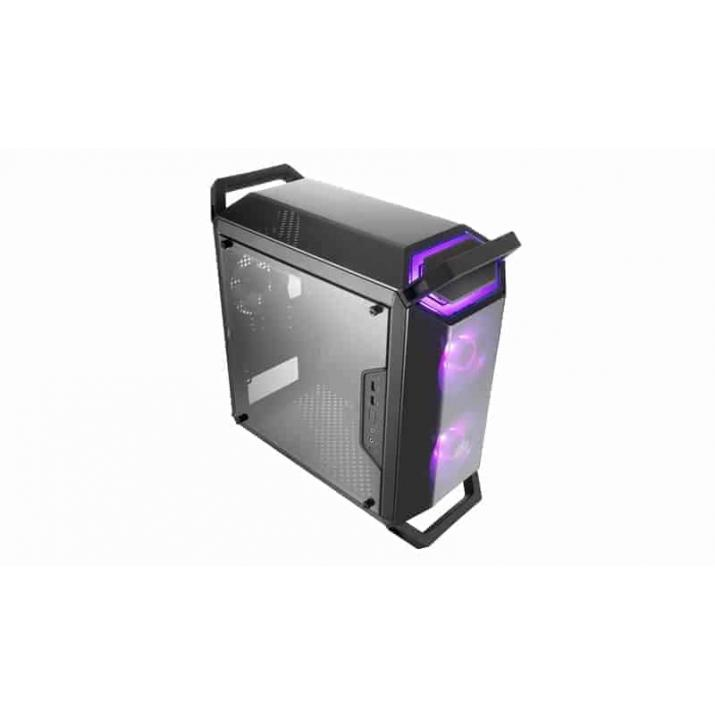 Video Editing Cabinet, Gaming Cabinet, create a captivating build in your preferred color theme with the included RGB controller. ... The MasterBox Q300P case supports CPU coolers up to a height of 157mm, graphics cards up ... Pre-installed Fan(s), Front, 120mm RGB LED x 2., , Buy Cooler Master MasterBox Q300P w/RGB Fans (MCB-Q300P-KANN-S02) online at low price in India, COOLER MASTER Q300P our removable handles make it easy to transport or carry your full system build to a LAN Party. ... COOLER MASTER MASTERBOX Q300P (M-ATX) Mini Tower Cabinet - With Transparent Side Panel And RGB Fan Controller .... The front supports up to two 140mm fans and up to a 240mm radiator.