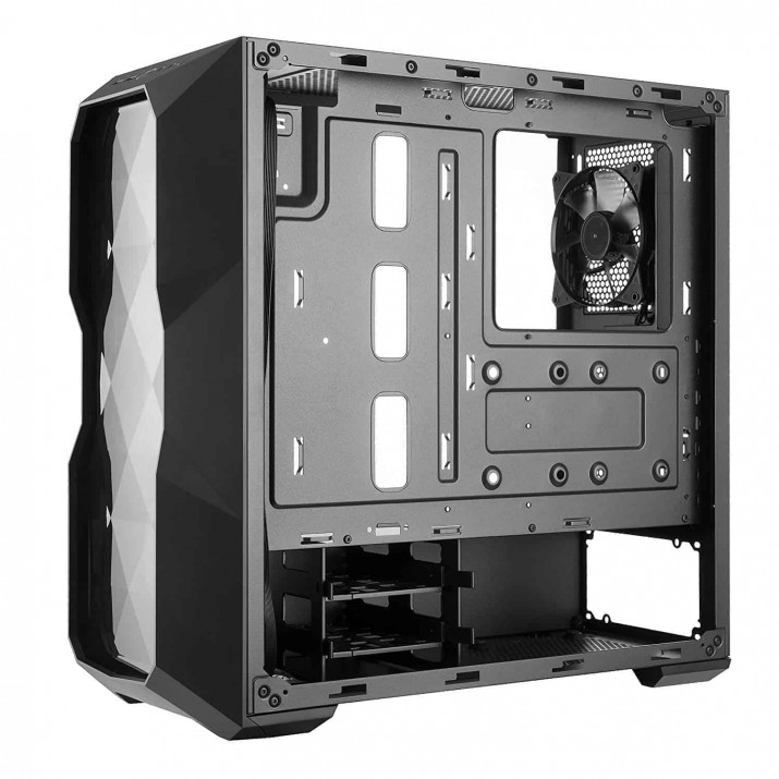 CABINET COOLER MASTER MASTERBOX TD500L MID-TOWER, The subtle placement of ventilation on the front panel balances aesthetics and efficiency by pulling air in on each side. Trim, that borders the entire panel, keeps, The MasterBox TD500L supports CPU-Coolers up to a height of 166mm, Graphic Cards up to a length of 407mm, and Power Supplies up to a length of 190mm, Show off your build through the unique shaped edge to edge acrylic side panel and enjoy the special lighting effect from different viewing angles,