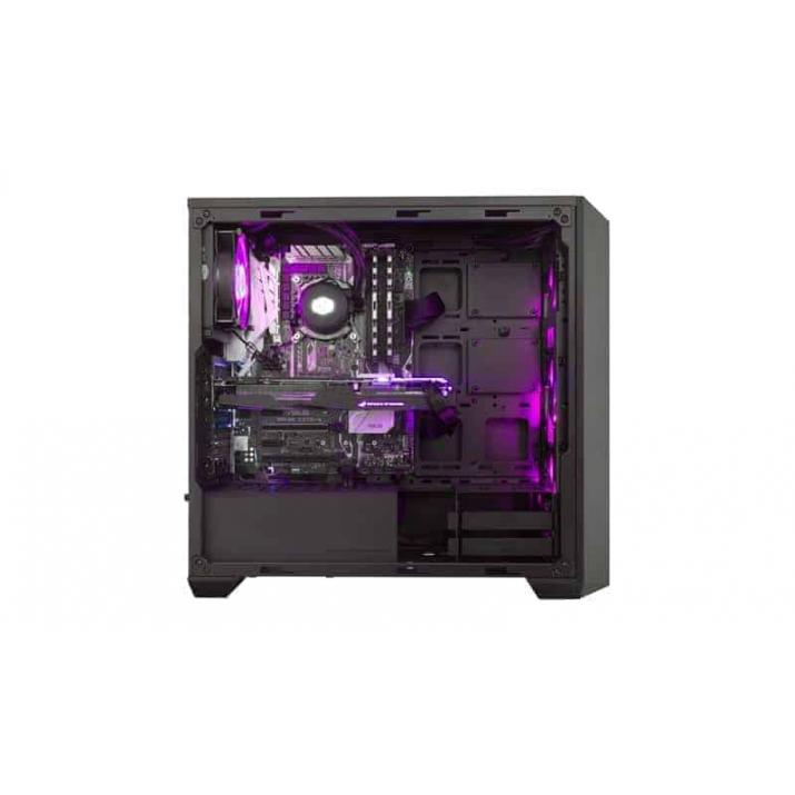 Video Mixing, Editing, Gaming Casing (Cabinet) MasterBox Pro 5 RGB. Try It Yourself. * Additional controller or compatible motherboard required for. RGB functionality. Exploring the Interior. Create a design, COOLER MASTER MASTERBOX PRO 5 RGB Mid Tower Cabinet (E-Atx) - With Tempered Glass Side Panel And RGB Fan Controller. ... Show off your perfect build and powerful components through the 4mm thick, edge to edge, tempered glass side panel! ... Challenge the confines of the MasterBox Pro 5 by Kartmy.com, kartnp.com, satyamfilm.com, satyamfilms.com