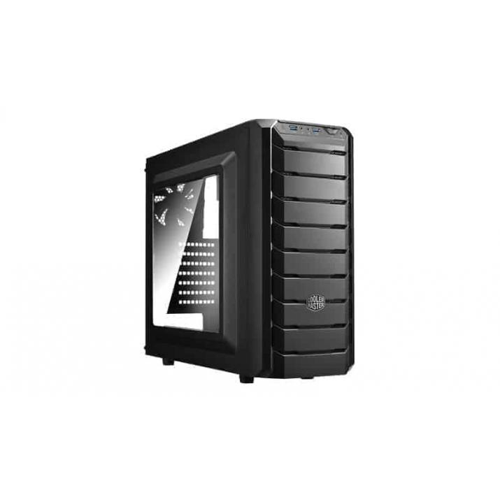 Cooler Master CMP500 With SMPS Elite V3 230v 400w Cabinet ATX, Micro-ATX, Mini-ITX Motherboard Support